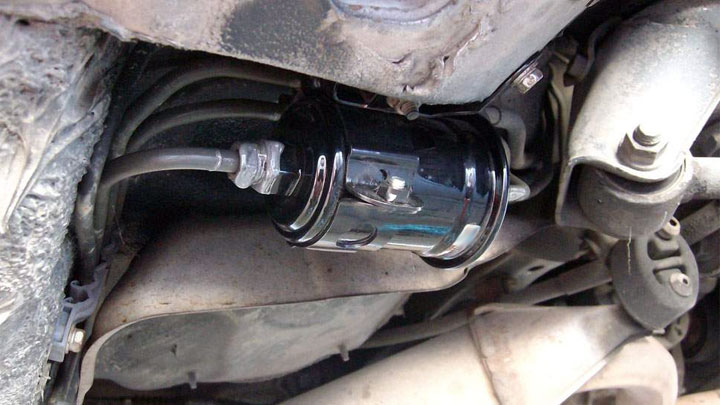 fuel filter replacement interval